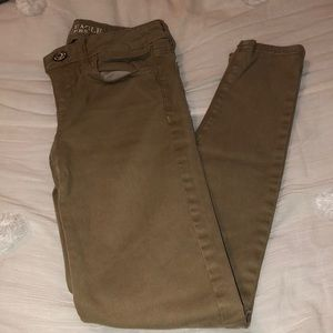 AEO Super stretch jeggings 00 short-khaki